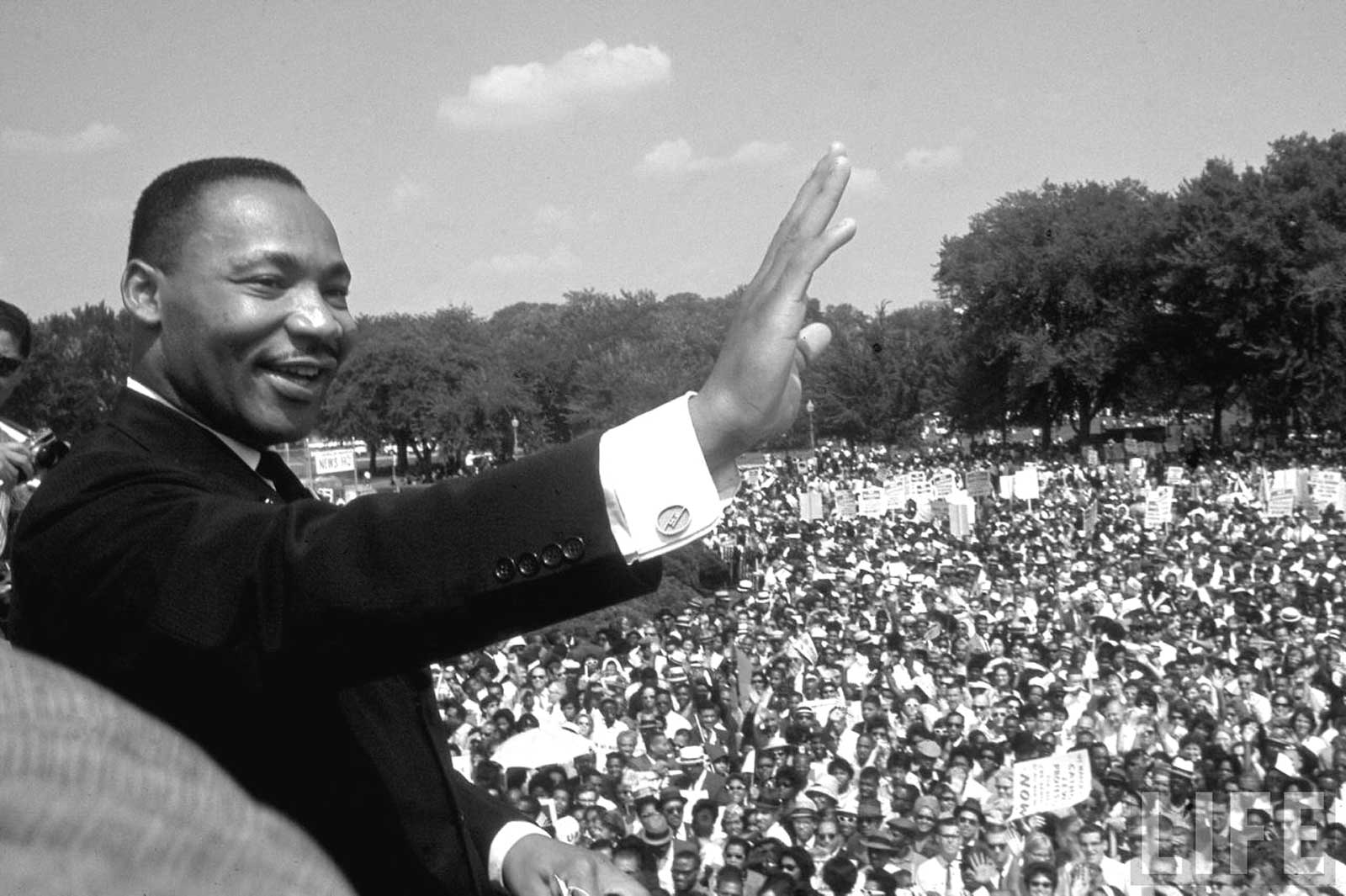 Thank You Dr. Martin Luther King, Jr.